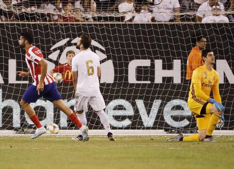 Atletico Madryt - Real 7:3Atletico Madryt rozbiło Real Madryt aż 7:3. Mecz odbył się w ramach pucharu International Champions Cup w San Diego. Choć spotkanie