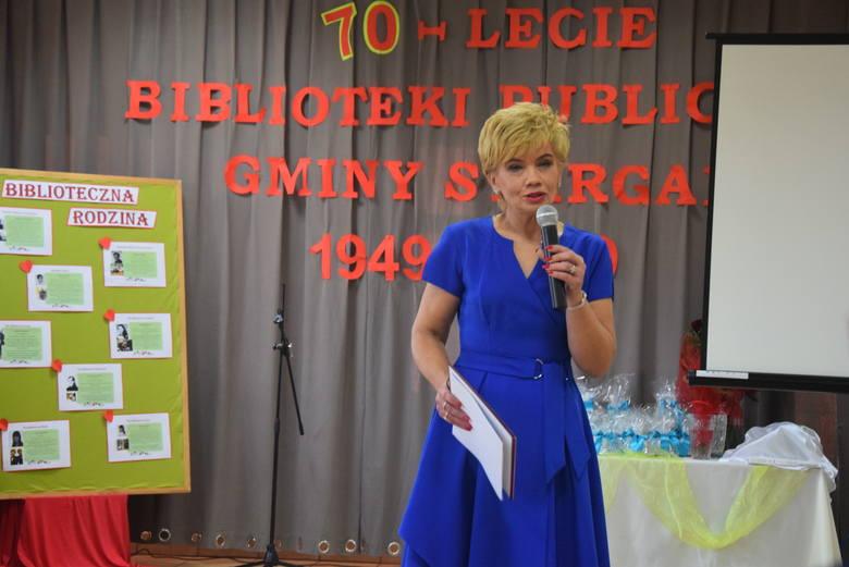 Obchody jubileuszu 70-lecia biblioteki w Klępinie