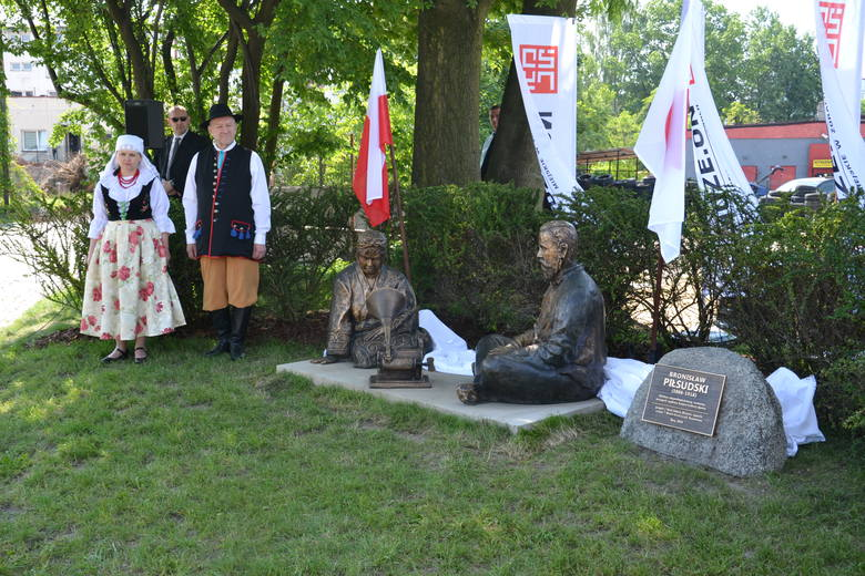 Bronisław Piłsudski ma swój pierwszy posąg w Polsce. Brat Józefa Piłsudskiego został uhonorowany w Żorach