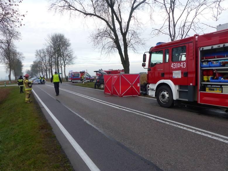 - Ze wstępnych ustaleń wynika, że kierująca samochodem suzuki zawracała na skrzyżowaniu do miejscowości Stare Berezowo - relacjonowała Edyta Wilczyńska