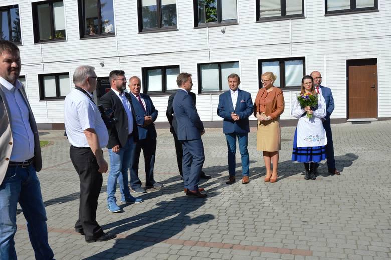 Prezydent Andrzej Duda w bytowskim Wirelandzie [ZDJĘCIA]
