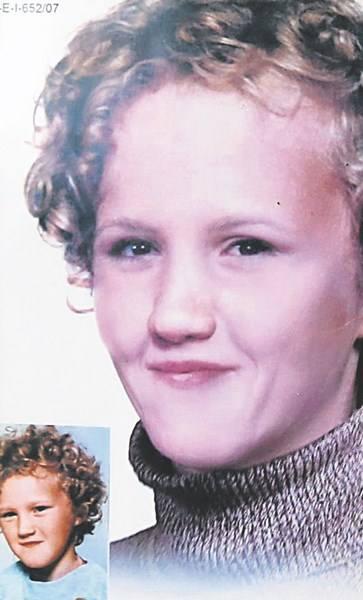 Na podstawie starego zdjęcia dwunastoletniej dziewczynki, dzięki zaawansowanym technikom komputerowym, policja przygotowała portret przedstawiający Basię