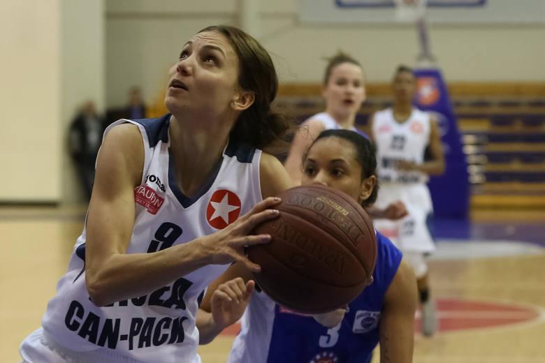 Koszykarki KSSSE AZS PWSZ Gorzów uniknęły pogromu, choć walczyły z mistrzyniami Polski