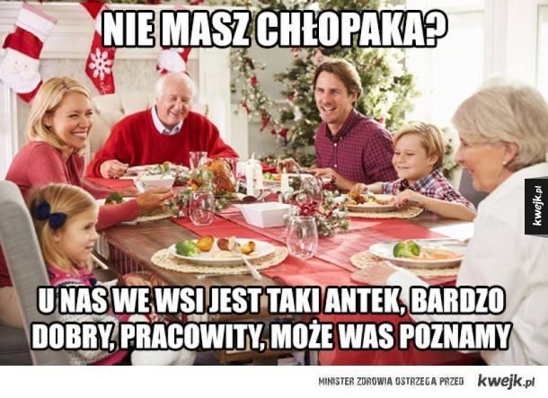 Memy o Wigilii potwierdzają jedno - wszyscy mamy podobne doświadczenia z wigilijnych spotkań z rodziną. Ty też z góry wiesz, co usłyszysz przy świątecznym