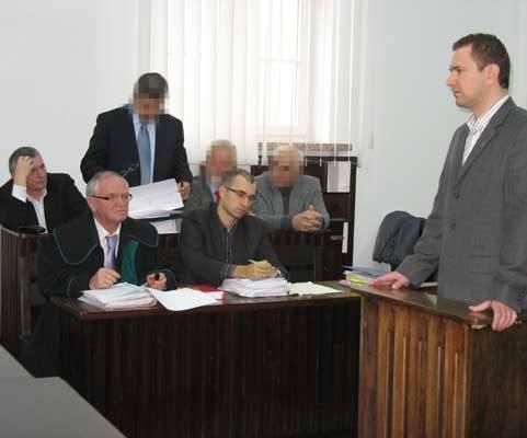 Dziś zeznawał między innymi Radosław Pobol. Na ławie oskarżonych zasiadają członkowie byłego zarządu miasta