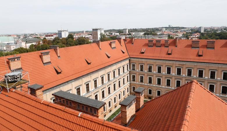 Zamek Lubomirskich w Rzeszowie.