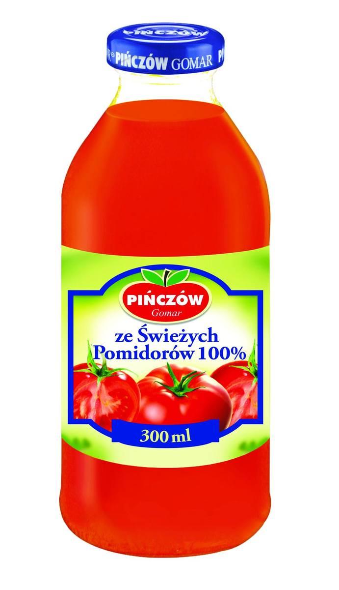 Nasze Dobre Świętokrzyskie 2012: Sok ze świeżych pomidorów 100 procentSok ze świeżych pomidorów 100 procent wytwarzany jest według tradycyjnej receptury