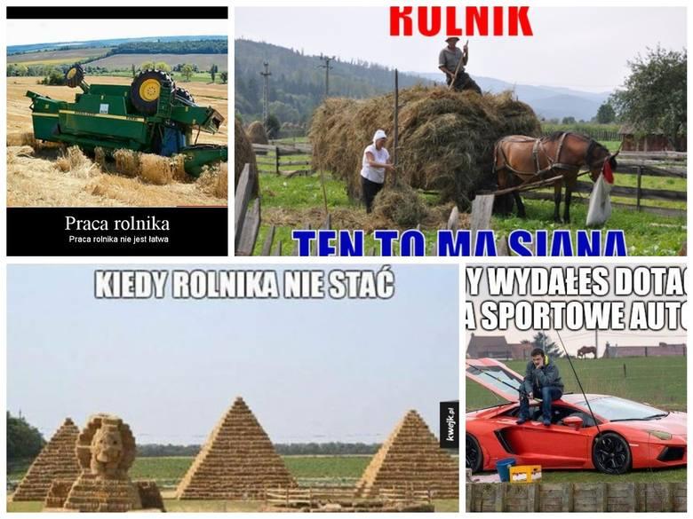 Rolnicy - budzą śmiech czy szacunek? Bywa różnie. Niezaprzeczalnie jednak bez ich ciężkiej pracy większość nie miałaby co jeść. Szczególnie w naszym