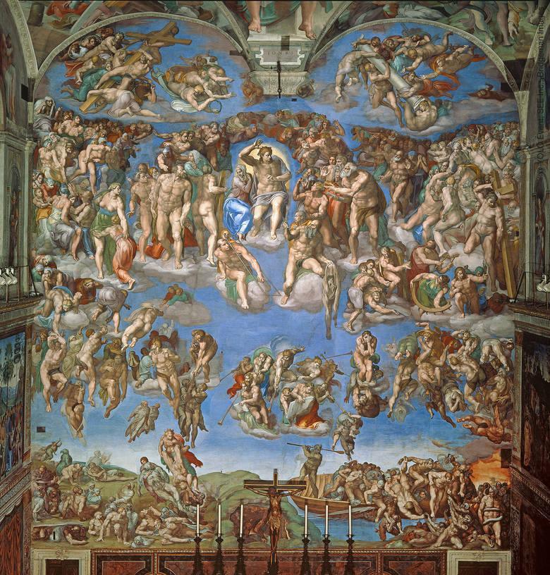Wystawa fresków z Kaplicy Sykstyńskiej we Wrocławiu. Prezentujemy wybrane reprodukcje słynnych malowideł