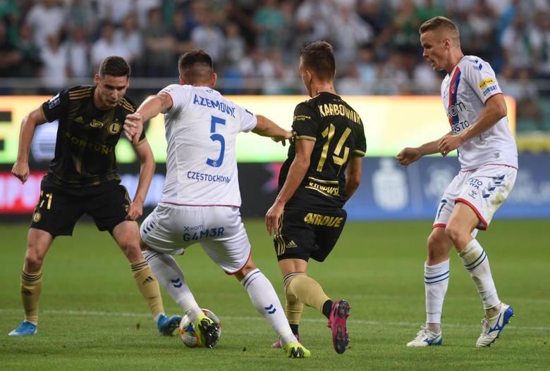 Jarosław Niezgoda po meczu Legia - Raków: Najważniejsze to strzelić gola, później poszło.
