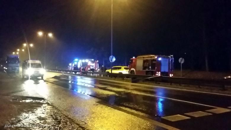 Wypadek w Mikołowie