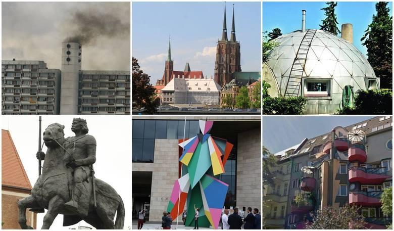 Nietrafione projekty, budowlane wpadki, dziwaczne pomniki i inne koszmarki, które budzą emocje wrocławian, dziwią turystów i są przedmiotem kpin internautów.