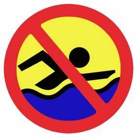 Szczecinek: Zakaz kąpieli w jeziorze Trzesiecko