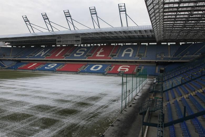 Wisła Kraków wciąż ma zaległości wobec miasta za wynajem stadionu przy ul. Reymonta.