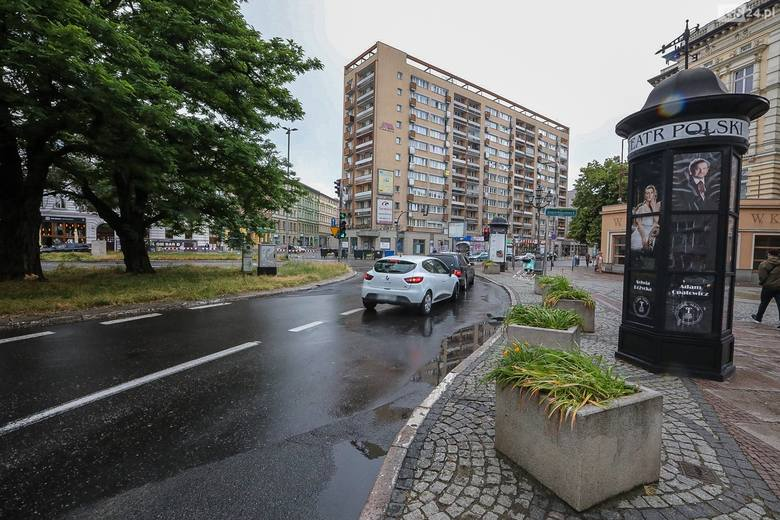 Plac Zgody w Szczecinie.