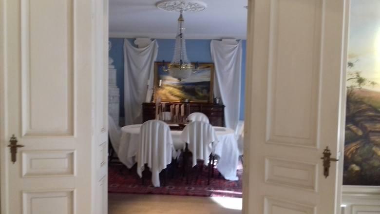 """Wnętrze domu, w którym rozgrywa się akcja powieści """"Buddenbrookowie"""""""