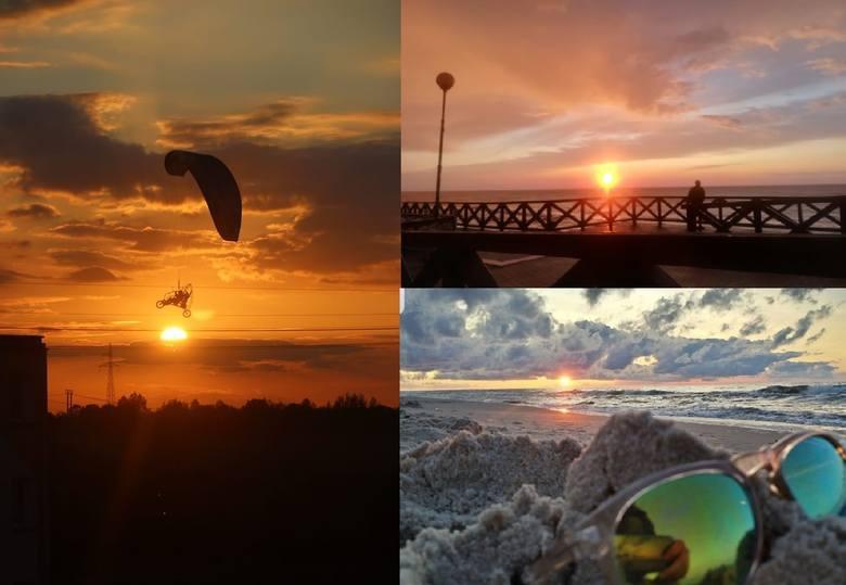 Na naszym profilu na facebooku poprosiliśmy Was o przesłanie zdjęć zachodu słońca. Otrzymaliśmy od Was wiele pięknych fotografii, z których stworzyliśmy