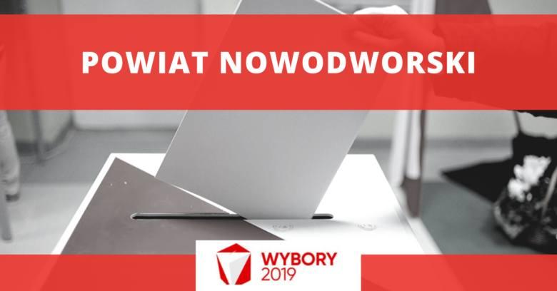 Wyniki wyborów 2019 - powiat nowodworskiWyniki wyborów do SejmuKoalicja Obywatelska - 40,75 proc. (6199 głosów)Prawo i Sprawiedliwość - 34,24 proc. (5209