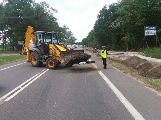 Do wypadku doszło na DK 80 w Złejwsi Wielkiej między Toruniem a Bydgoszczą