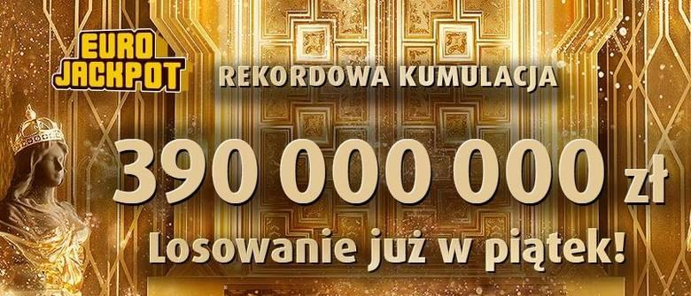 EUROJACKPOT WYNIKI 10.05.2019. Eurojackpot Lotto losowanie 10 maja 2019. Do wygrania kumulacja 390 mln zł? [wyniki, numery, zasady]