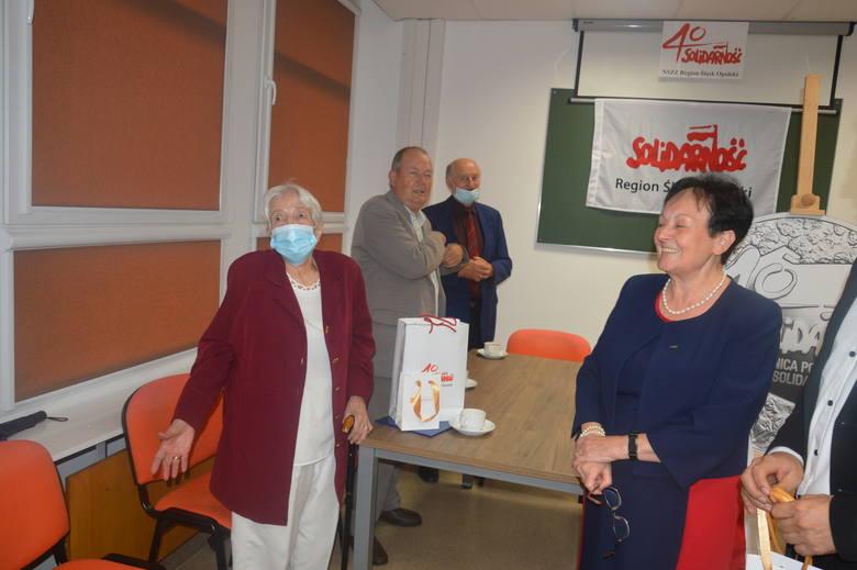 """Zarząd Regionu """"S"""" uhonorował tych, którzy są członkami związku od 40 lat"""