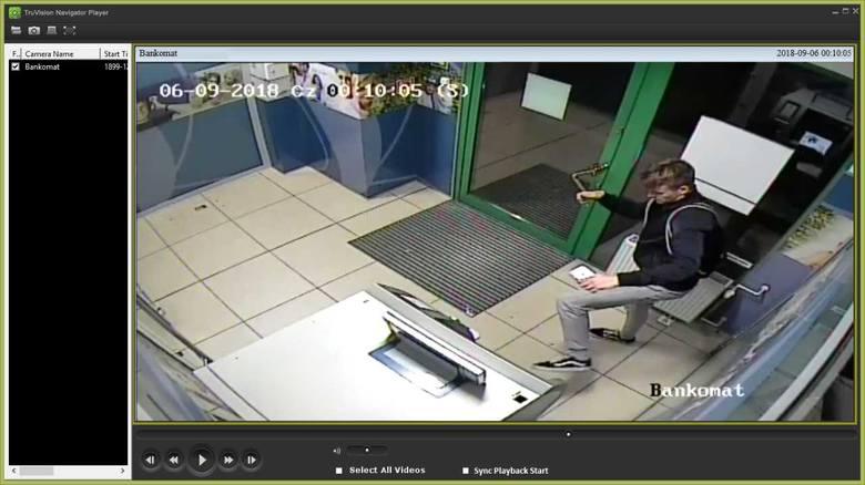 Toruńska policja poszukuje mężczyzny, który uszkodził bankomat. Jego wizerunek zarejestrowały kamery monitoringu. Publikujemy zdjęcia podejrzanego.<br /> <br /> Zobacz też:<br /> <br />...