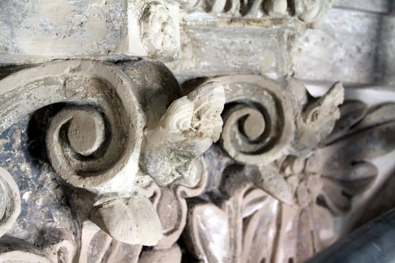 Detal z kaplicy Firlejów.