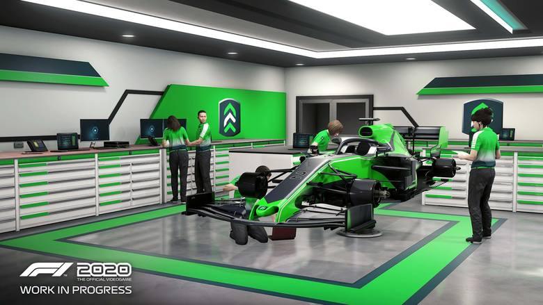 W F1 2020 będzie można stworzyć swój zespół. Mamy wideo!