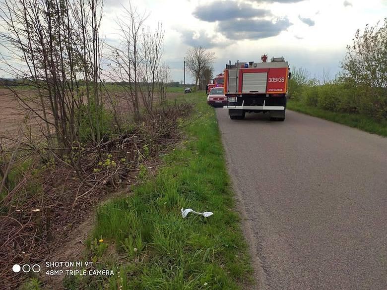 W wypadku po Zawykami rannych zostało dwóch mężczyzn