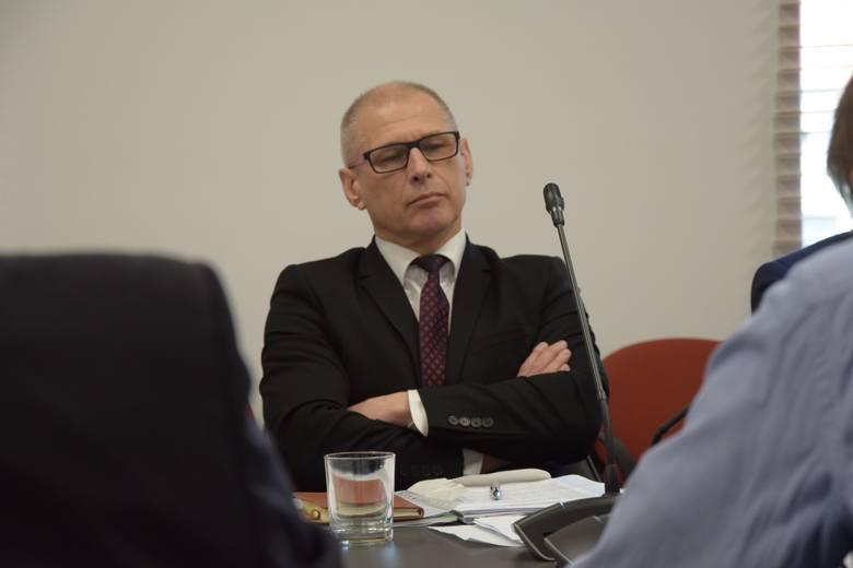 Sesja rady miejskiej w Nowej Soli, 31 maja 2019 r.<br /> - Czy to nagonka na mnie, czy na PiS? - pyta radny Nowej Soli Andrzej Wieczorek
