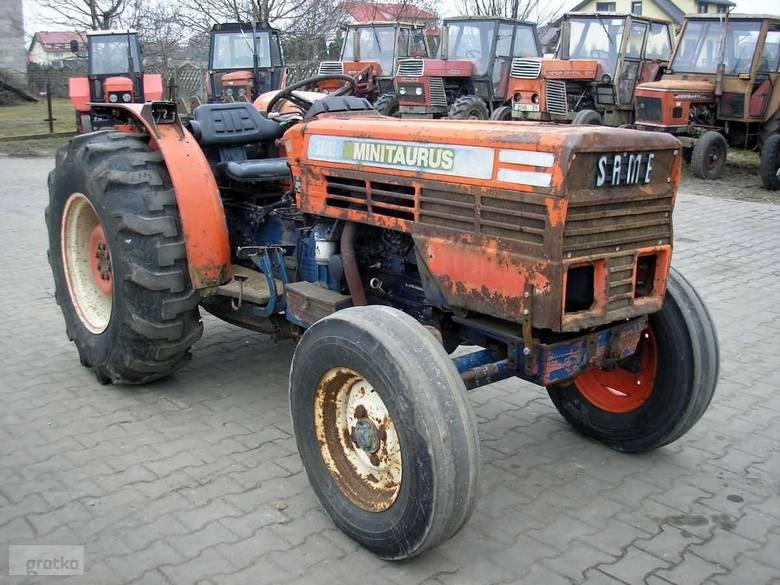 Same Mini Taurus 60KM. Rok produkcji: 1989, silnik trzycylindrowy wspomaganie kierownicy. Cena: 10500 zł