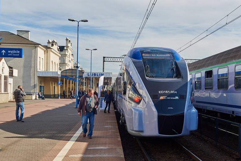 Podróż pociągiem będzie dłuższa