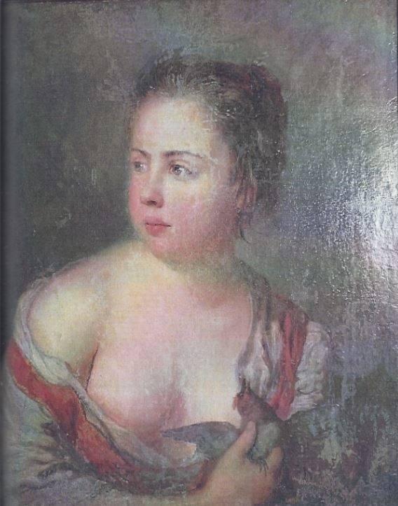 """Obraz """"Dziewczyna z gołębiem"""" zostało kupione 9 maja 1931 roku przez ówczesne Muzeum Wielkopolskie (dzisiejsze Muzeum Narodowe w P"""