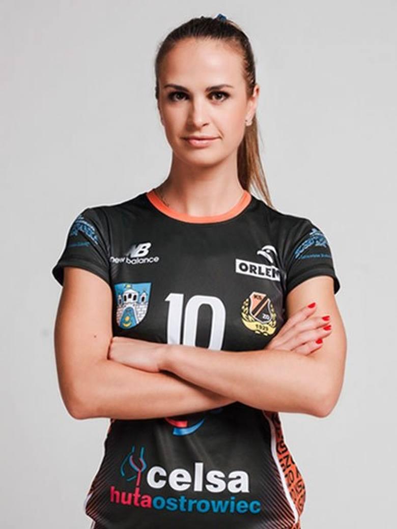 Volha Pauliukouskaya - zawodniczka grającego w Siatkarskiej Lidze Kobiet KSZO Ostrowiec Świętokrzyski.
