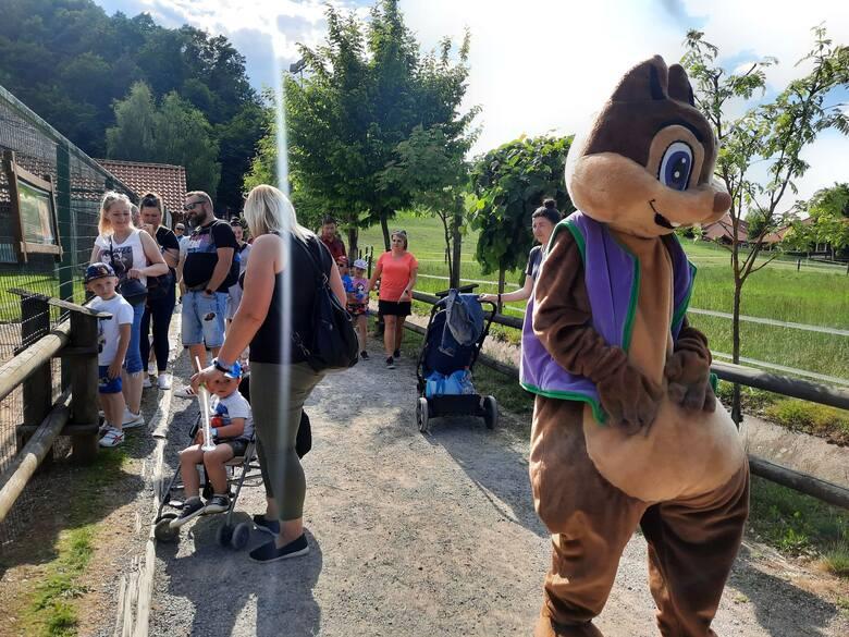 W piątek, w drugi dzień długiego weekendu Bałtowski Kompleksie Turystyczny odwiedziły tłumy ludzi z całej Polski, także zorganizowane wycieczki i rodziny