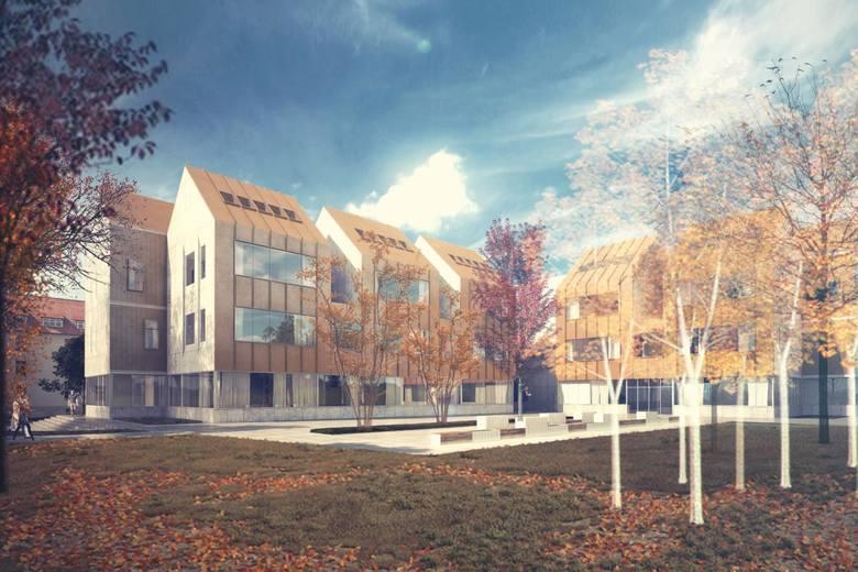 Gmach, w którym mieścić się będzie nowoczesne centrum konserwacji zabytków jest już pod dachem. Afiliowana przy Wydziale Sztuk Pięknych UMK placówka
