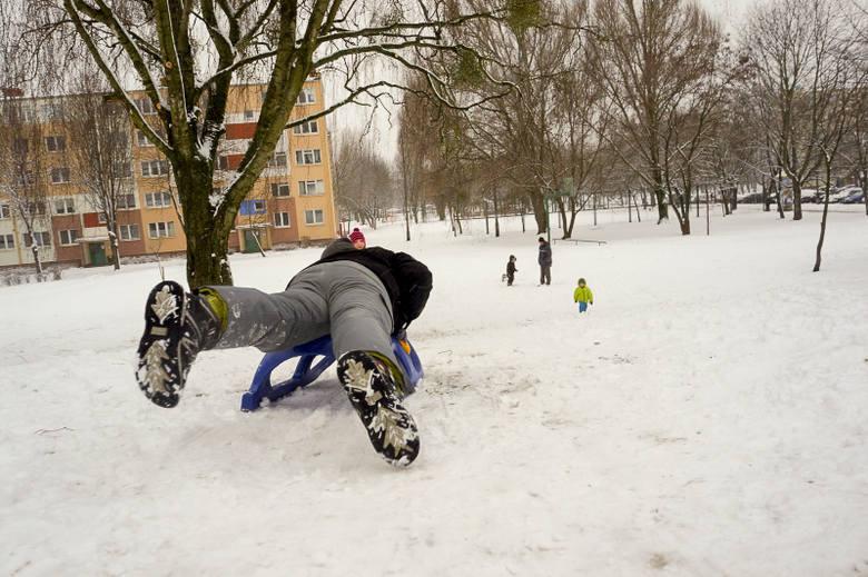 Zima w Białymstoku