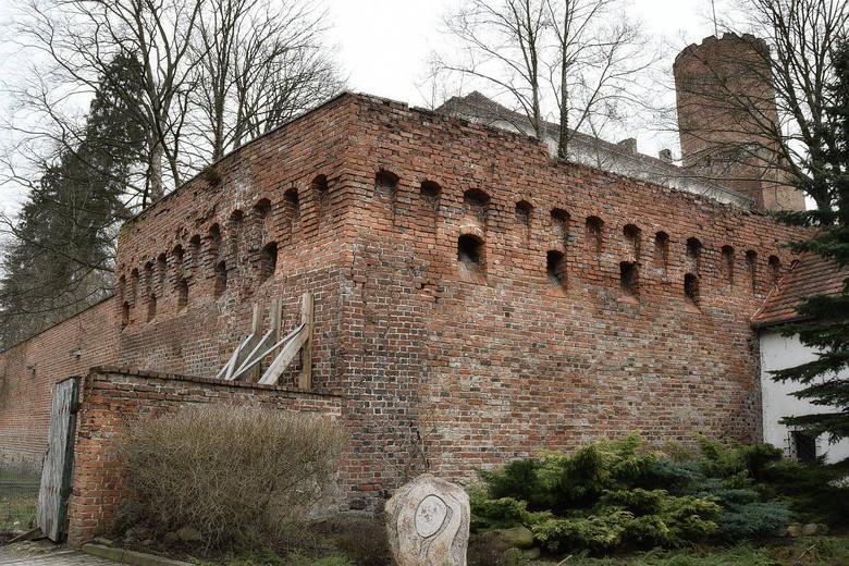 Zamek Joannitów w Łagowie.