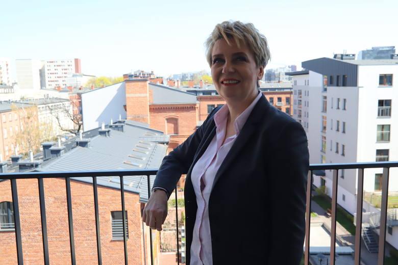 Witamy w nowym mieszkaniu prezydent Łodzi, Hanny Zdanowskiej