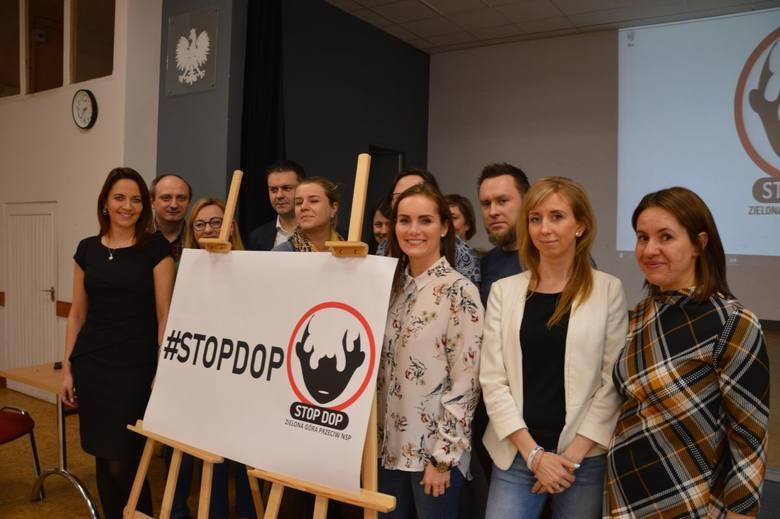 Organizatorzy akcji #STOPDOP liczą, że będzie ona coraz bardziej popularna w Zielonej Górze