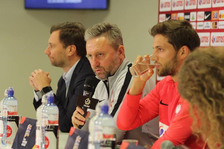 Konferencja prasowa przed meczem Polska - Portugalia