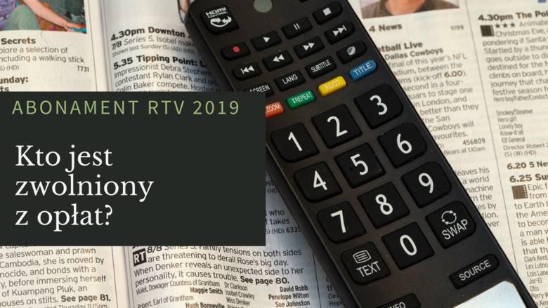 abonament RTV, kto nie musi płacić abonamentu RTV,zwolnieni z opłaty abonamentowej
