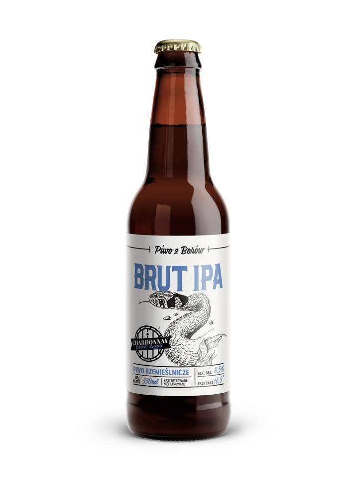 Zawartość niewielkiej butelki IPA Brut z Borów Tucholskich piwni recenzenci uznali za najlepszą na świecie w swojej kategorii.