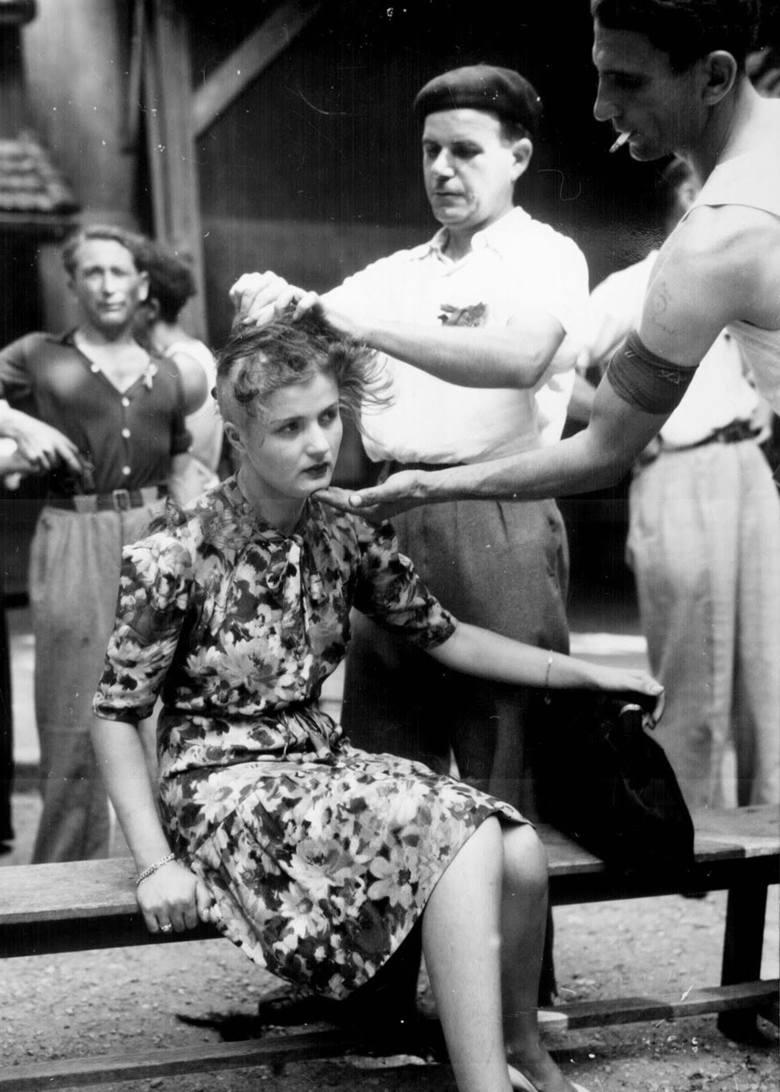 Kraków, lata 40. Niemiecki żołnierz w towarzystwie dziewczyny wybiera się na przejażdżkę dorożką