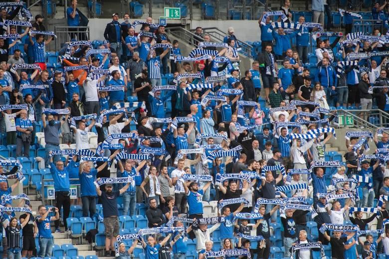 Lech Poznań zremisował w niedzielę, 30 sierpnia z Wisłą Płock na stadionie przy Bułgarskiej w Poznaniu. Mimo ograniczeń związanych z pandemią koronawirusa