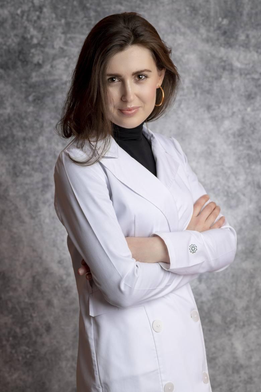 Katarzyna Bielawska, specjalistka chirurgii onkologicznej w Białostockim Centrum Onkologii.