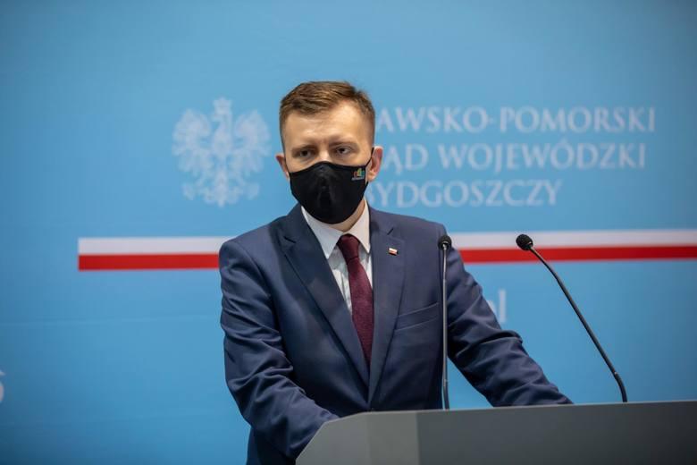 Minister Łukasz Schreiber: Nie wyobrażam sobie by można tworzyć większość rządową i nie zagłosować za otrzymaniem 770 miliardów zł z UE