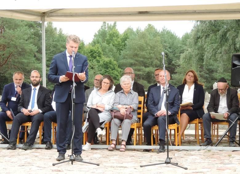 76. rocznica buntu w Treblince. Uroczystości na terenie byłego obozu zagłady Treblinka II