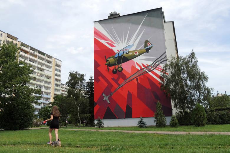 Murale w Toruniu. Coraz częściej w polskich miastach na elewacjach budynków pojawiają się wielkoformatowe malowidła. Historia murali sięga czasów międzywojennych