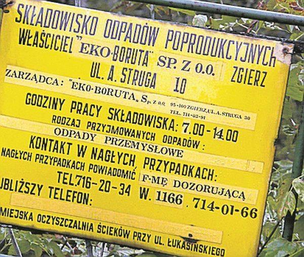 """Odpady po """"Borucie"""" wciąż są groźne..."""